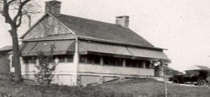 Black and white image of the Wollcott Keeper's House