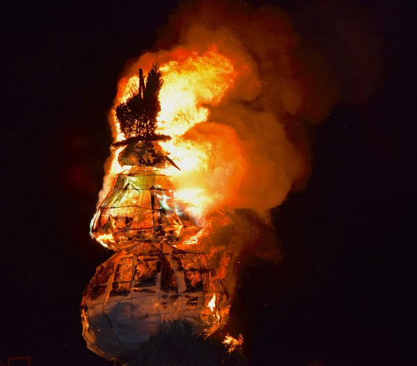 Image of the Burning Snowman