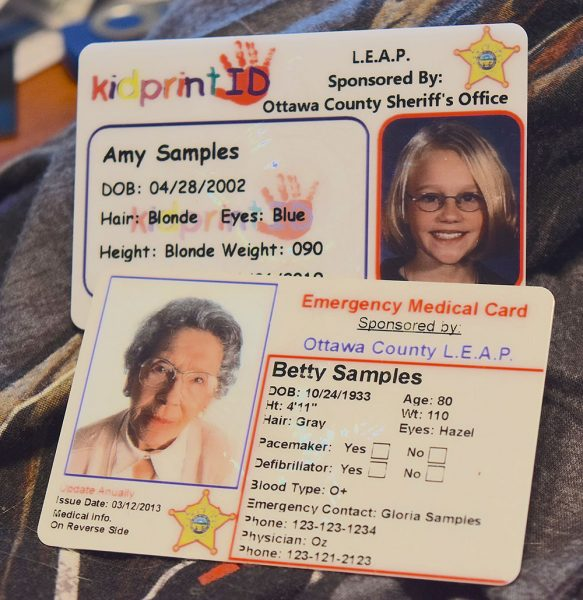 Image of medical cards