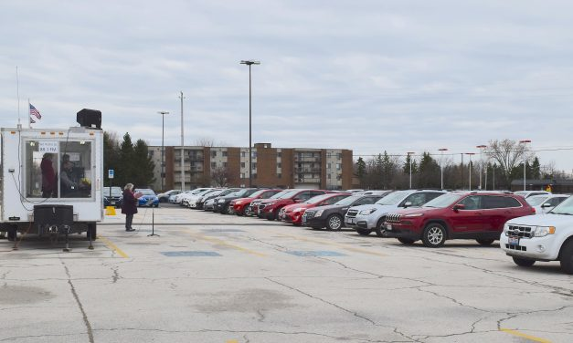 Drive-in Easter service held at Sutton Center