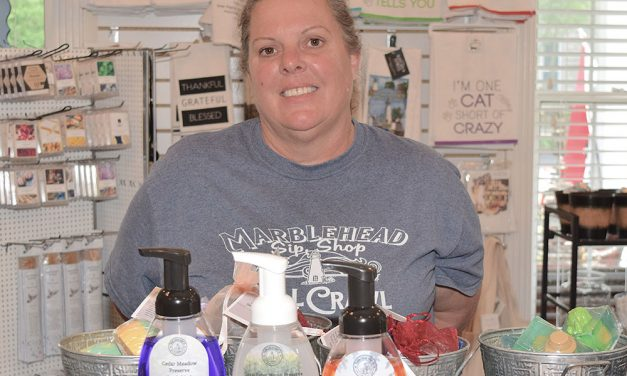 Marblehead soaps benefit local nature preserves
