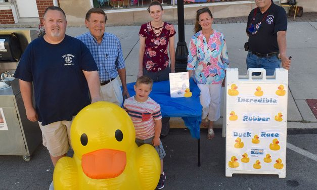 Rubber Ducks to race on Derby Pond for United Way