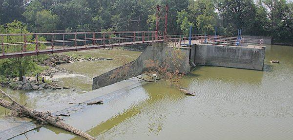 Ballville Dam in Fremont