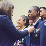 Token of Excellence: The Junior Distinguished Badge