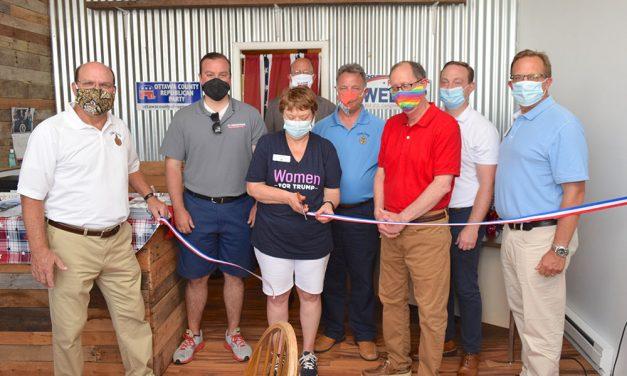 Republicans dedicate new HQ in Port Clinton