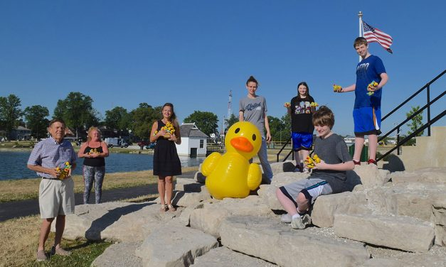 United Way's Ducks all in a row, time for 2020 Rewind Day!