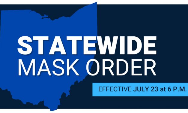 Statewide mask order in effect at 6 p.m. today