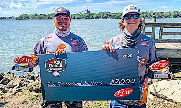 BGSU wins college bass tourney on Lake Erie at Sandusky