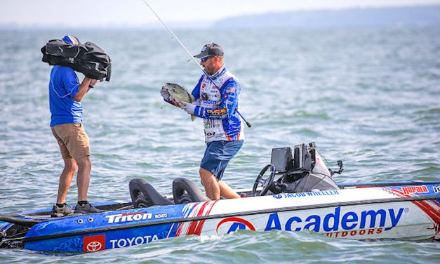 Jacob Wheeler raves about Lake Erie's smallmouth bass