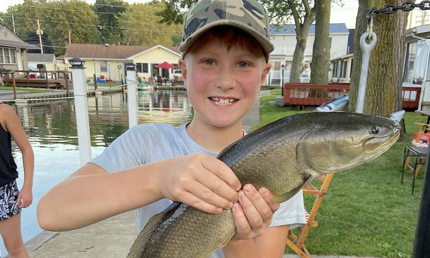 Trophy bowfin a rare treat along Lake Erie