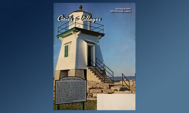 Port Clinton Lighthouse featured on cover of state magazine