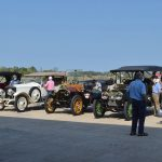 Snappers, Brass & Gas dazzle area with restored touring cars
