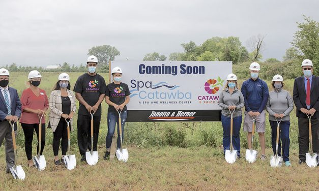 Spa Catawba breaks ground on expansive new facility in Marblehead