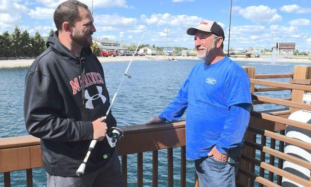 Veterans enjoy camaraderie of Lake Erie walleye fishing