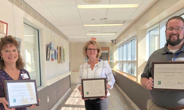 Trio of Magruder execs earn Green Belt Certification