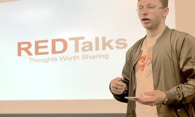 RED Talks begin with Mark Phillips' 'Smile!'