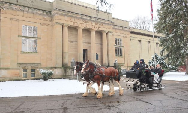 Spiegel Grove horse-drawn sleigh and trolley rides this holiday season