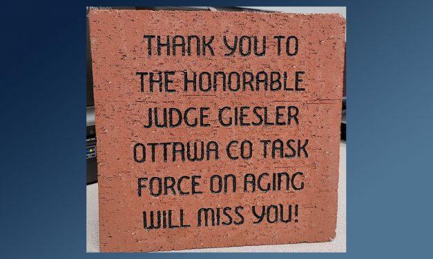 Ottawa County Task Force on Aging honors Judge Kathleen Giesler