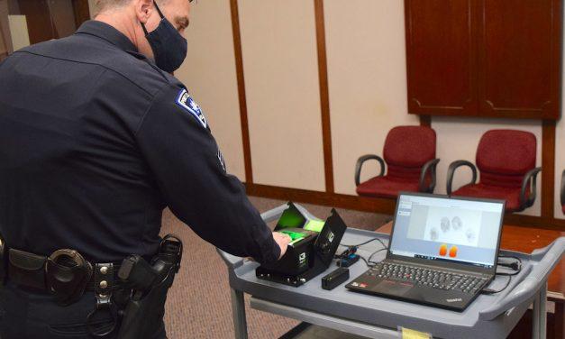 Livescan Fingerprint Machine streamlines local law enforcement
