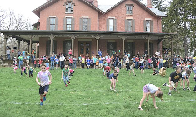 Kids enjoy games, see Easter Bunny at Hayes Easter Egg Roll