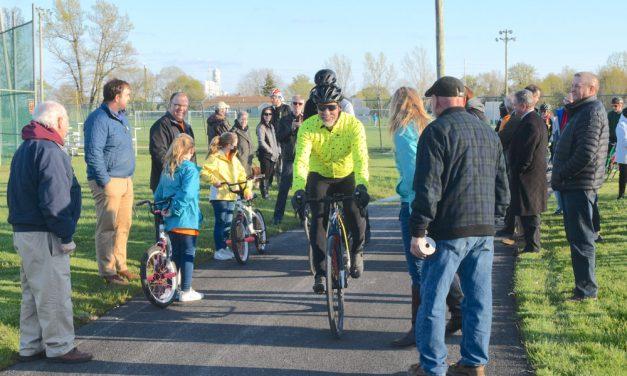 Elmore-to-Genoa bike trail a history lesson, says Mayor Bergman
