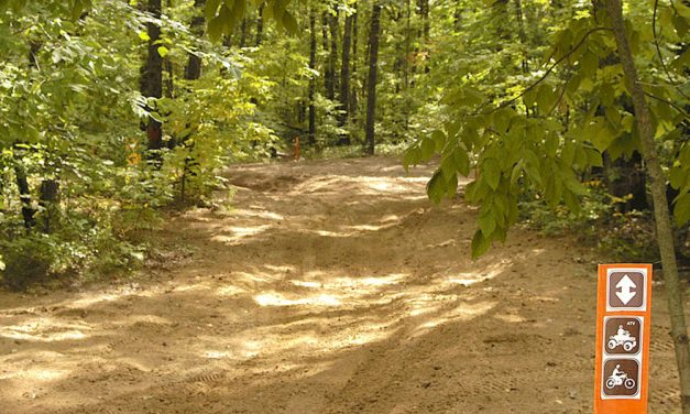 Maumee State Forest offers riders 8 miles of APV trails