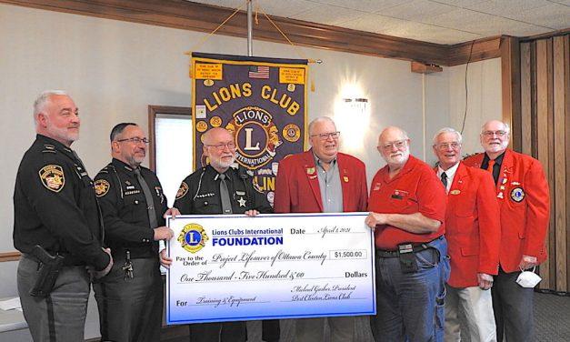 Port Clinton Lions celebrate Sheriff Department's 'Project Lifesaver'