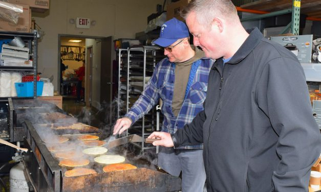Flippin' FOP flapjacks at fundraiser for Bistro 163