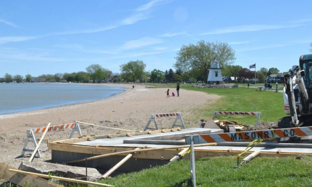 New look for Lake Erie beach, Portage River