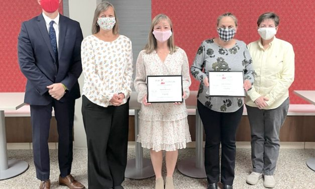 Smothers, Reineck, Thompson receive Flagship Awards from Port Clinton School District