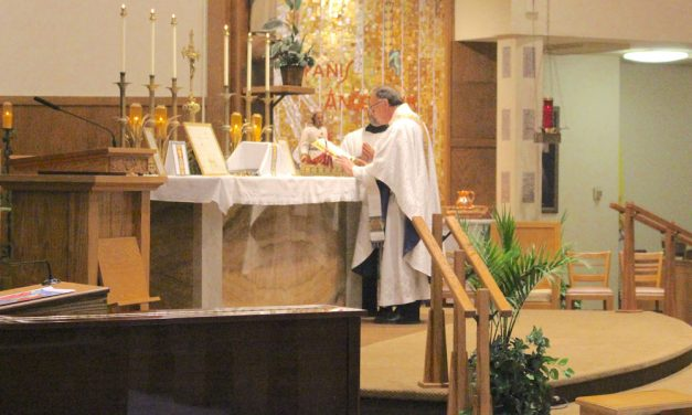 Father Jonathan Wight celebrates 35 years of Priesthood