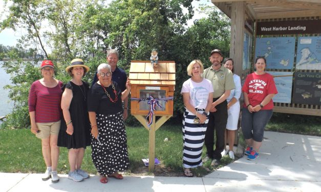 Little Free Library makes its debut at pristine West Harbor Landing