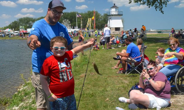 Catfish and kids connect at Skipper Bud's Fishing Derby