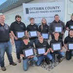 Skilled Trades Academy graduates ready to go to work