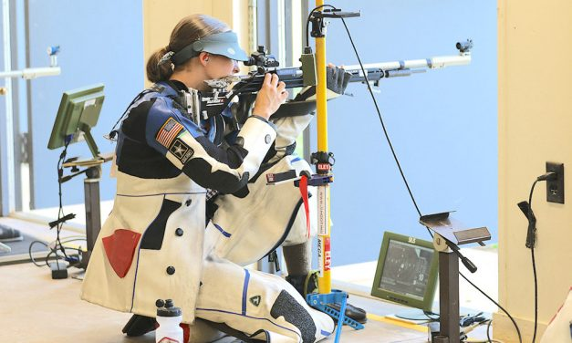 Camp Perry shooting star earns spot on U.S. Olympic rifle team in July