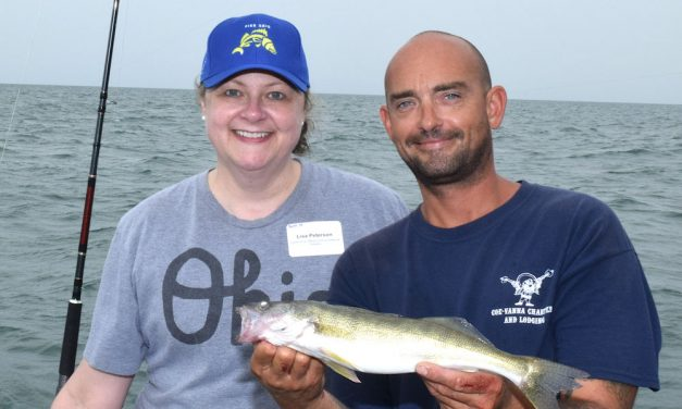 Walleye still on move, but closer to islands