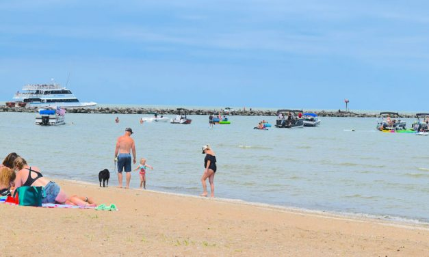 It's a new day, as summer crowds flock to area