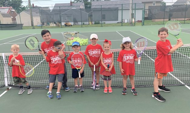 Port Clinton grooms tennis stars of the future at summer camps