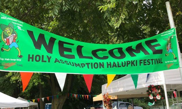 Polkas, Halupki a good, old days festival in Marblehead on Sunday