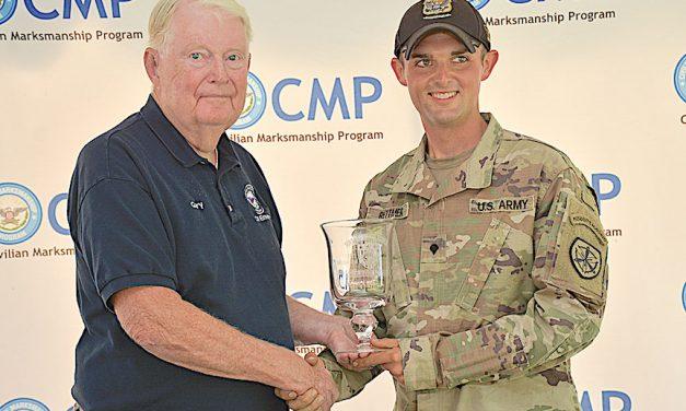 Luke Rettmer earns CMP Highpower Rifle Championship Ag-gregate Win at National Matches