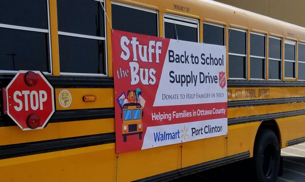 'Stuff the Bus!' at Walmart this weekend!