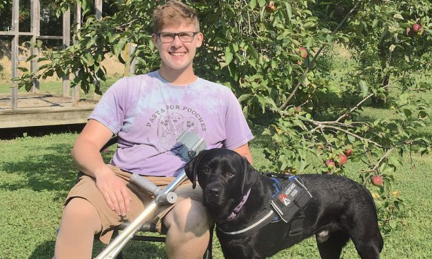 'Sparky' helps Oak Harbor's Zac Moyer on road to recovery