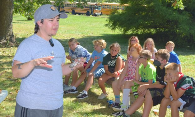 Fifth graders and conservation a traditional match in Ottawa County