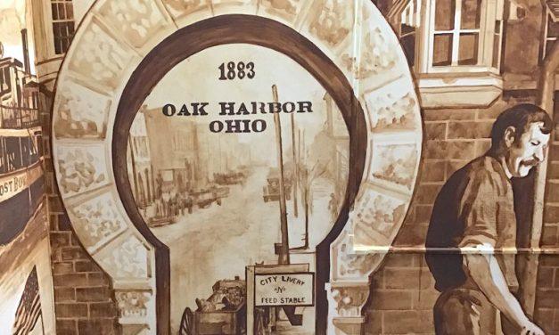 New mural at Oak Harbor Public Library