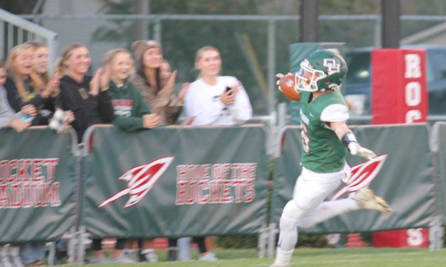 Witter, Ridener lead Rockets to victory, 56-7