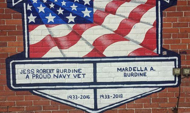 Ritter enhances Veterans Mural