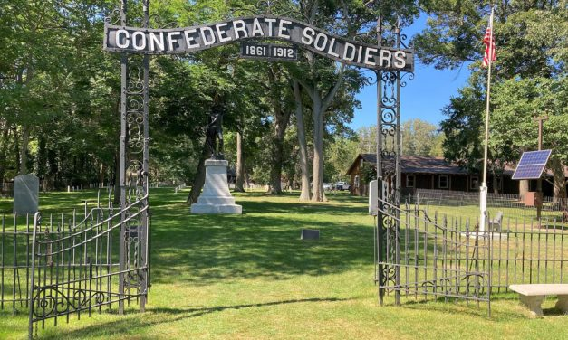 The Confederate Civil War cemetery on Johnson's Island is worth a visit