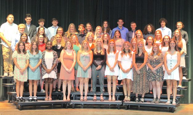 National Honor Society members inducted at Port Clinton High School